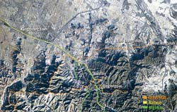 Great wall of china from outer space for A muralha da china vista da lua
