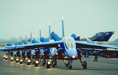 各国战斗机飞行表演队