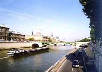巴黎 塞纳河 风光欣赏 图文高清图片