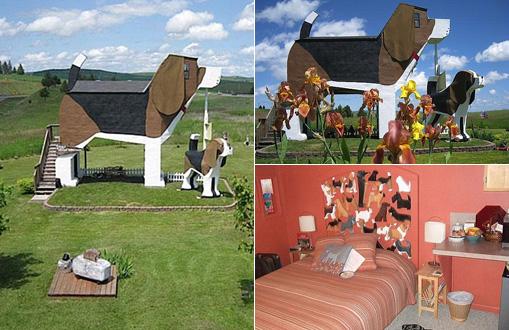 Dog Bark Park Inn In US